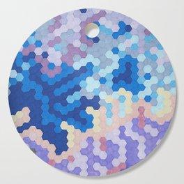 Nebula Hex Cutting Board