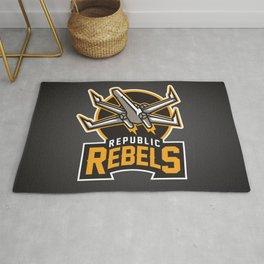 Republic Rebels - Black Rug