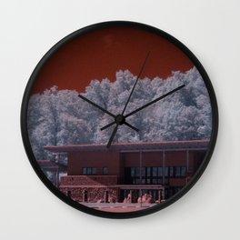 R72: Mars Station #E72 Wall Clock
