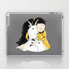 Capricia with Goats Laptop & iPad Skin