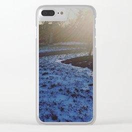 SNOWRISE Clear iPhone Case