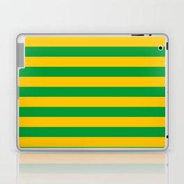Mauritania Macau flag stripes Laptop & iPad Skin