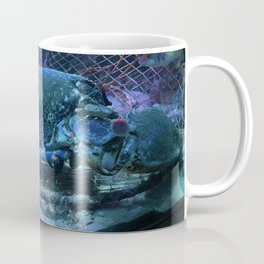 Blue Lobster Coffee Mug