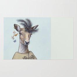 Oh deer, that´s posh! Rug