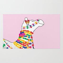 Indian Camel Art/ Colorful Camel Rug