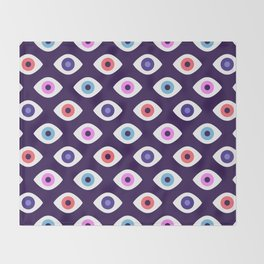 Lucky Eyes Throw Blanket