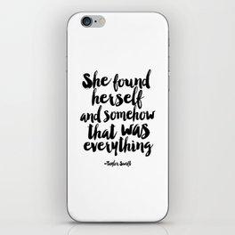 PRINTABLE Art,Quote,Girls Room Decor,Home Decor,Typography Art,girls room decor iPhone Skin