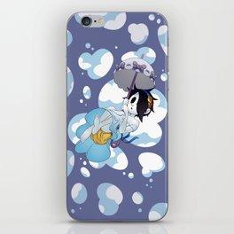 Parasol Isaac iPhone Skin