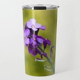 Purple nature Travel Mug