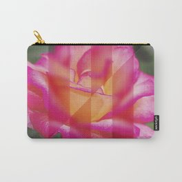 Rose Flower From A New Angle Carry-All Pouch