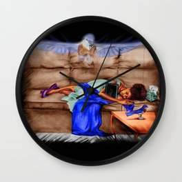 MOMMIE'S BABY Wall Clock