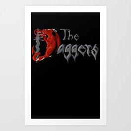 Daggers T-shirt Art Print