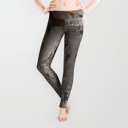 The surface etch Leggings