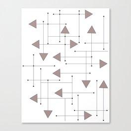 Lines & Arrows Canvas Print