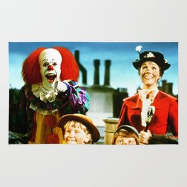 PENNYWISE IN MARY POPPINS Rug