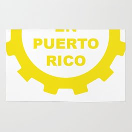 Hecho En Puerto Rico Rug