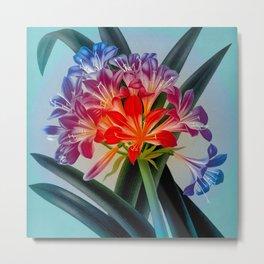 Colorful Flower Bulb Metal Print