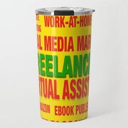 Freelancing Social Media Souvenir Travel Mug