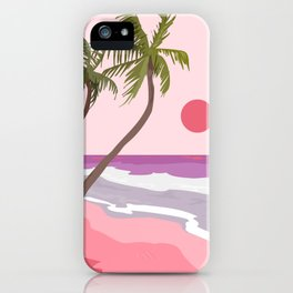 Tropical Landscape 01 iPhone Case