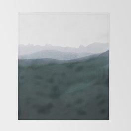 mountain horizon 3 Throw Blanket