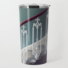 Stairway to heaven - dot circle graphic Travel Mug
