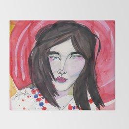 Björk Throw Blanket