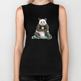 Panda - a Summer Bear 2014 Biker Tank