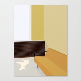SOVENDE HUND Canvas Print