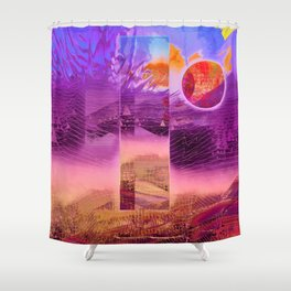 solar portal Shower Curtain