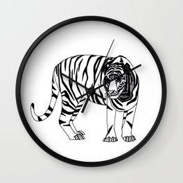 mr. tiger Wall Clock