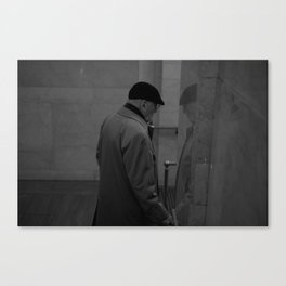 a man Canvas Print