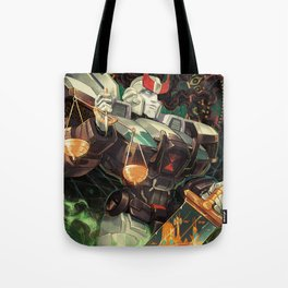 Weight of Justice Tote Bag