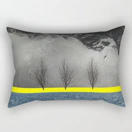Between Mountain and Sea Rectangular Pillow