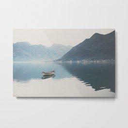 boat reflections ... Metal Print