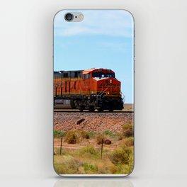 Orange BNSF Engines iPhone Skin