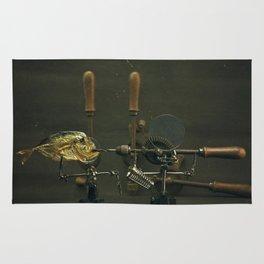 Fish and Drills Rug