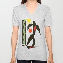 Inspired to Matisse (vintage) Unisex V-Neck