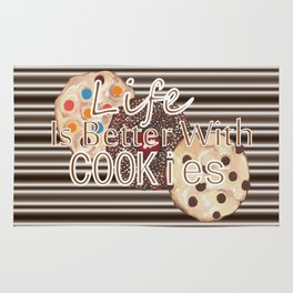 Life Is Better With Cookies Rug