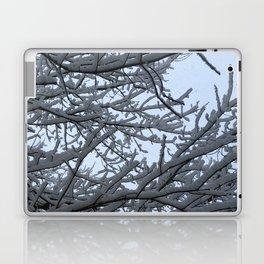 Tree at snow. Laptop & iPad Skin