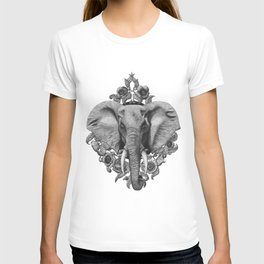 Elephant & Poppies  T-shirt
