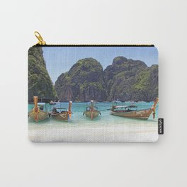 Maya Bay, Phi Phi Island, Thailand Carry-All Pouch