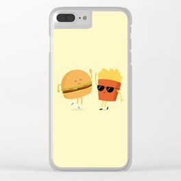 BFFs Clear iPhone Case