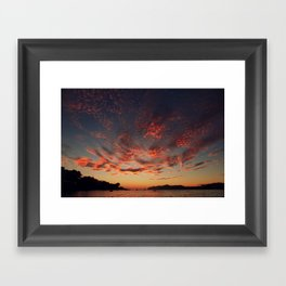 Sundown Mallorca Framed Art Print