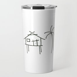 Little Island House Travel Mug