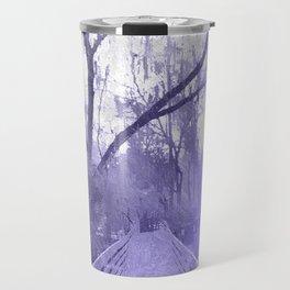 Icy Cypresses Travel Mug