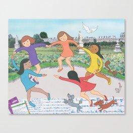 Suzette's Dancers Canvas Print