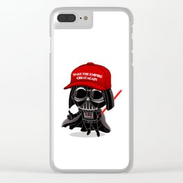 Make the Empire Great Again Clear iPhone Case