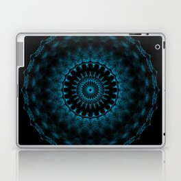 Snowflake #005 solid Laptop & iPad Skin