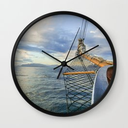 Smooth Sailin' Wall Clock
