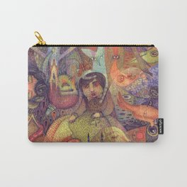 The Stubbornness of Memories Carry-All Pouch